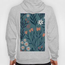 HAND PAINTED AUTUMN / SPRING FLORAL BOUQUETS Hoody