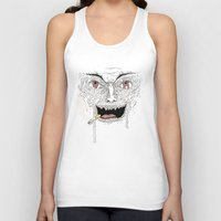 psycho Tank Tops featuring Psycho by Davies Babies
