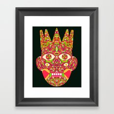 The Psychedelic Daemon I Framed Art Print