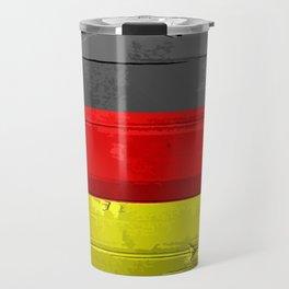 Germany Flag Patt Travel Mug
