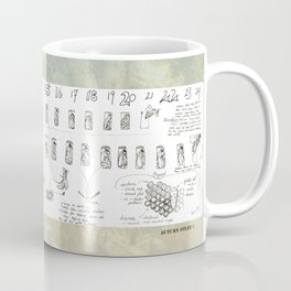 Stages of the Honey Bee Coffee Mug