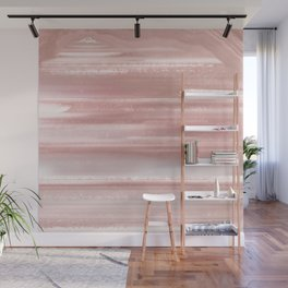 Geode Crystal Rose Gold Pink Wall Mural