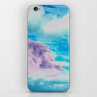 cloud iPhone & iPod Skins featuring Cloud by Amy Sia