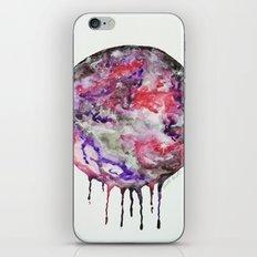 Watercolor Moon Drip Purple, Pink, Black,Grey,White iPhone & iPod Skin