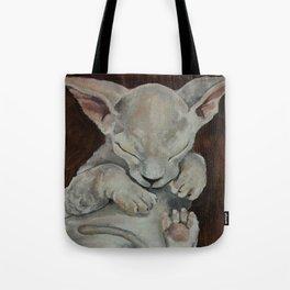 Sphynx, cat, sleeping cat Tote Bag