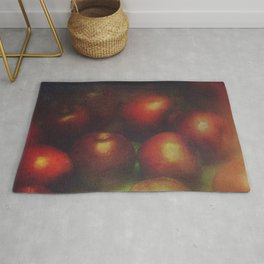 Once Upon a Time a Red Apple Rug
