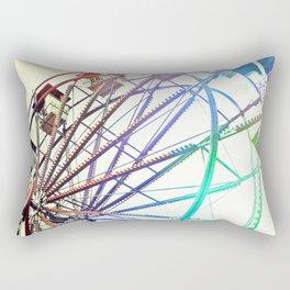 Modern Spin on Neolithic Technology Rectangular Pillow