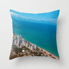 Brazil Beach Throw Pillow