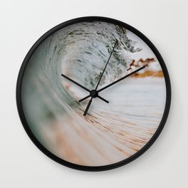 summer waves xiii Wall Clock