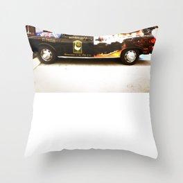 British Taxi Throw Pillow