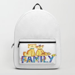 We are Family Backpack