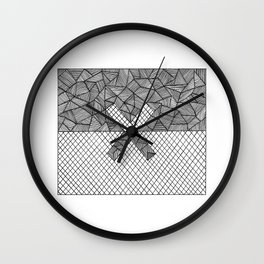 Halves Wall Clock