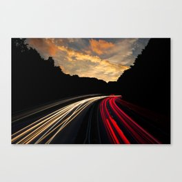Highway to Adventure Canvas Print