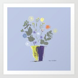 Floral Bouquet with Dylan's Daisies Art Print