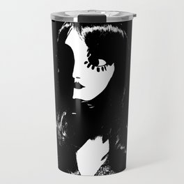 Art Deco Woman - Sin City Style Travel Mug