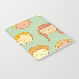 happy little faces. Notebook