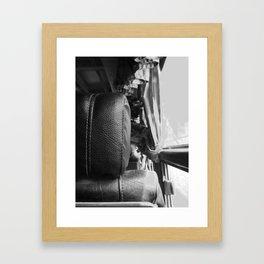 Bus Ride #1 Framed Art Print