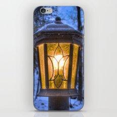 Frozen Lantern iPhone & iPod Skin