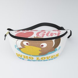 Girl Who Loves Platypus Fanny Pack