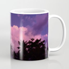 Pink clouds sunset Coffee Mug