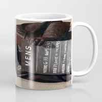 planet of the apes Mugs featuring Planet of the Apes  by Rotton Cotton Candy