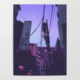 Tokyo 7pm Poster