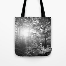 Sundown in the Forest Tote Bag