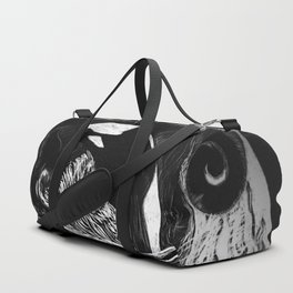 Orca Flow black-and-white Duffle Bag