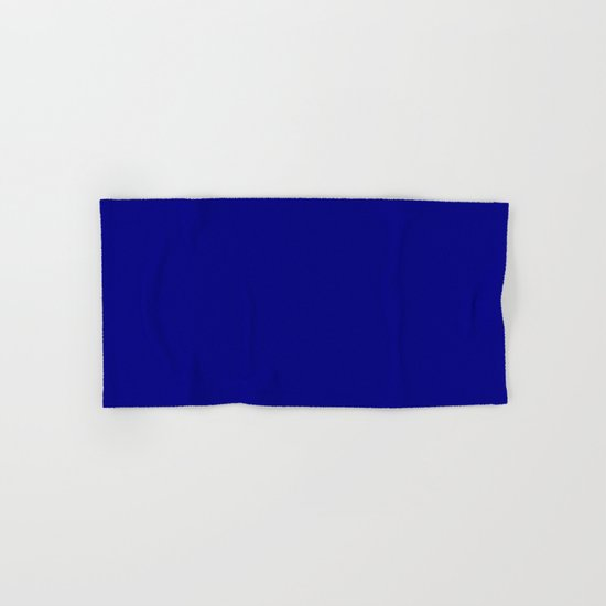 (Navy Blue) Hand & Bath Towel