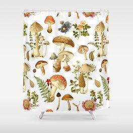 Mushroom Dreams Shower Curtain