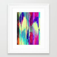 glitch Framed Art Prints featuring Glitch by James McKenzie