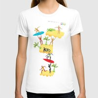 holiday T-shirts featuring Holiday by Lazy bEE