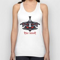 beast Tank Tops featuring BEAST by lucborell