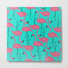 Bright flamingo Metal Print