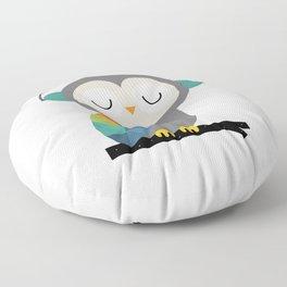 Owl Time Floor Pillow