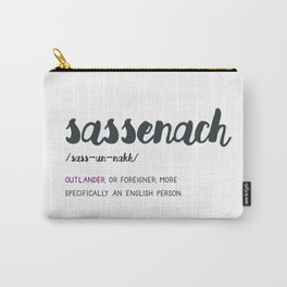 Outlander Sassenach Definition Carry-All Pouch