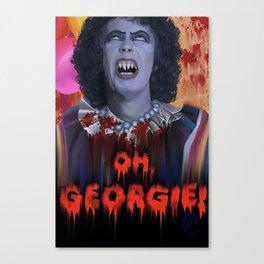 "Rocky Horror - ""IT"" - Sweet TransvestITe Canvas Print"