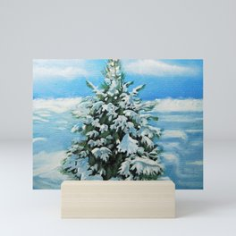 The Day After Snow Scene Art Mini Art Print