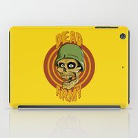 army iPad Cases featuring Dead Army by Leandro Dexter