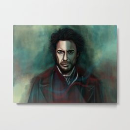 Robert Downey Jr. Metal Print