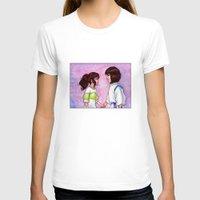 chihiro T-shirts featuring Chihiro and Haku by Kimberly Castello