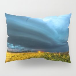 UFO - Storm After Dark in Southern Oklahoma Pillow Sham
