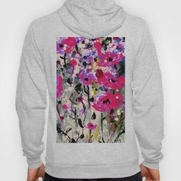 Floral Expression 1l by Kathy Morton Stanion Hoody