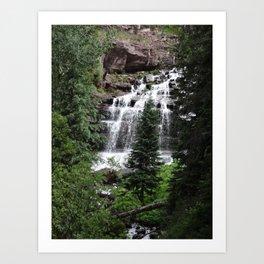 Cascading Art Print