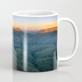 Three Sisters Sunrise View in Blue Mountains, Australia Coffee Mug