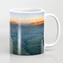 Three Sisters Sunrise View in Blue Mountains, Australia Coffee Mug