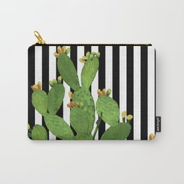 stripe succulent Plants Carry-All Pouch