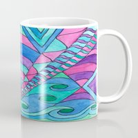 gatsby Mugs featuring Gatsby Inspired by Rosie Brown