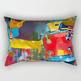 Drummer Rectangular Pillow
