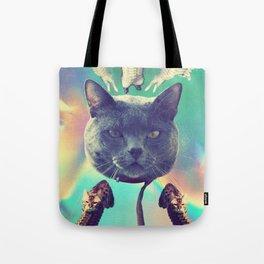 galactic Cats Saga 3 Tote Bag